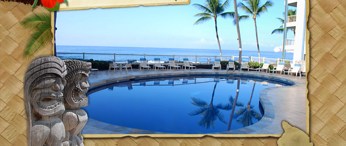 Oceanfront Kona Reef Swimming Pool